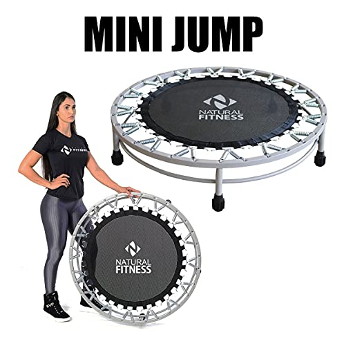 Cama Elástica Mini Jump Profissional 150kg Capa De Proteção