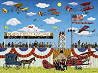 大人のジグソーパズル1500ピースの木製素材-飛行機展-子供のパズルゲームパーソナライズギフトDIY家の装飾