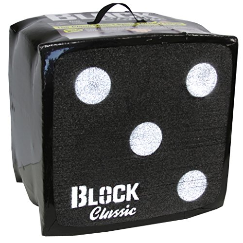 Block Classic Archery Target - Stops Arrows with Friction...