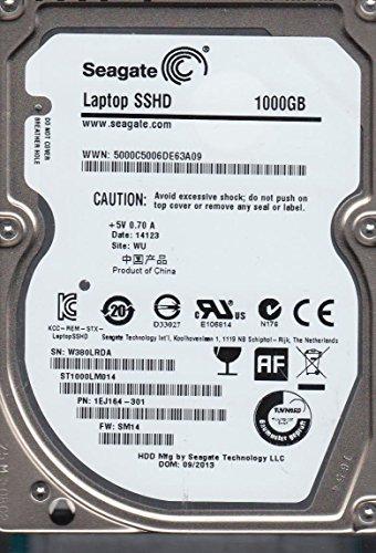 Seagate st1000lm014, W38, Wu, PN 1ej164–301, FW SM14, 1TB SATA 2,5Festplatte