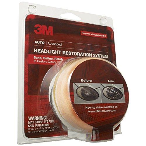 3M 39008 Headlight Lens Restoration System 2Pack