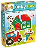 Lisciani Giochi 57825 - 15 Puzzle x 2 pezzi Carotina Baby Duo Farm, 1-4 anni