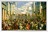 Paolo Veronese Poster The Wedding Feast at Cana, gerahmt,