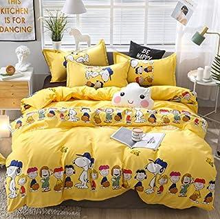 Lenzuola Matrimoniali Snoopy.Amazon It Lenzuola Snoopy