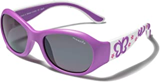 Mausito - Gafas de sol Niña 2-4 años I FLEXIBLES Gafas de sol para niñas con 100% PROTECCIÓN UV I Gafas de sol infantiles Rosa & Lila I Genial regalo de chicas I Gafas de sol de goma para niña