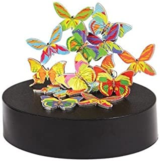 Warm Fuzzy Toys Magnetic Sculpture Butterflies Toy