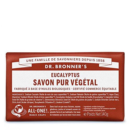 Dr. Bronner's Seife Eukalyptus–140g