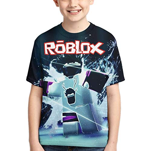 Boys Shirt Tees T-Shirts Hot Games 3D Printed Tshirt for Kids and Youth S