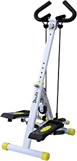 Doufit Stepper for Exercise Machine, ST-01 Foldable Workout Step Machine for Home Use with 220 Lbs Capacity (Unadjustable Resistance)