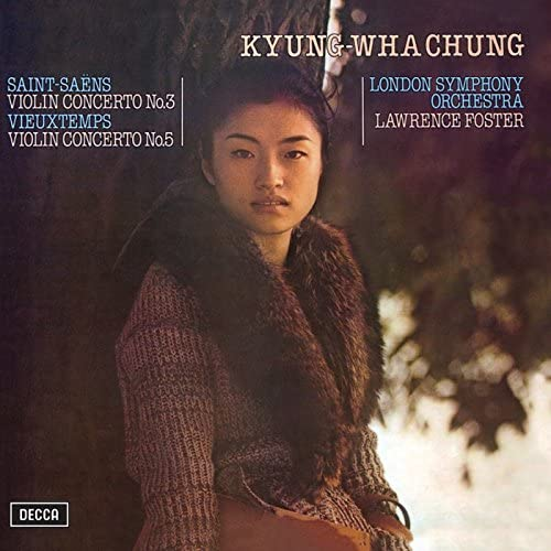 Kyung Wha Chung, London Symphony Orchestra & Lawrence Foster