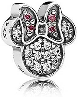 PANDORA Disney Sparkling Minnie Icon Petite Locket Charm - 796346CZ