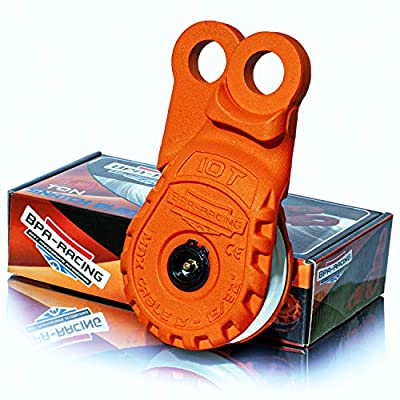 """BPA-RACING 10-Ton Snatch Block 