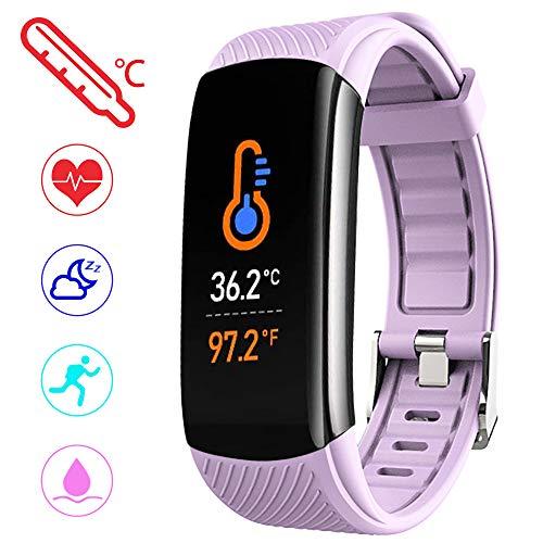PYBBO Fitness Tracker Temperatura Presión Sanguínea