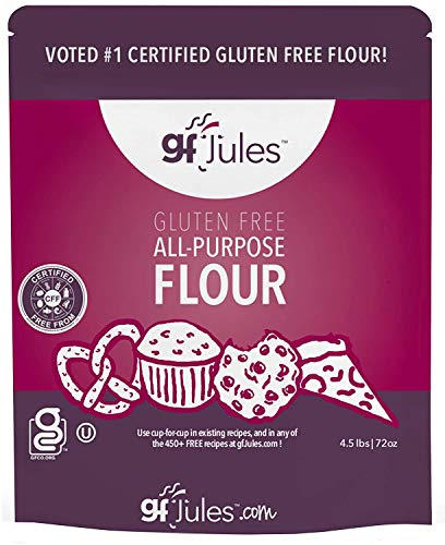 gfJules Gluten Free All Purpose Flour 4.5 Pound Pouch, Great Alternative to Regular Flour, Voted #1 by Consumers GF Flour Favorite