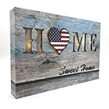 HOME SWEET HOME sign LED Light Box, Home Decorations, Shabby Chic Décor, Living Room Decorations, Wall Decorations, Home Signs for Home Décor, Small Wall Décor, Room Wall Décor, 6 Hour Timer Function