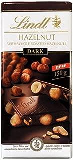 Lindt Dark Hazelnut Chocolate 150g x 4 Bars