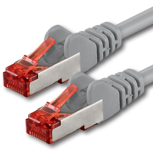 1aTTack CAT6 PIMF SFTP Doble Red blindado Patch Cable