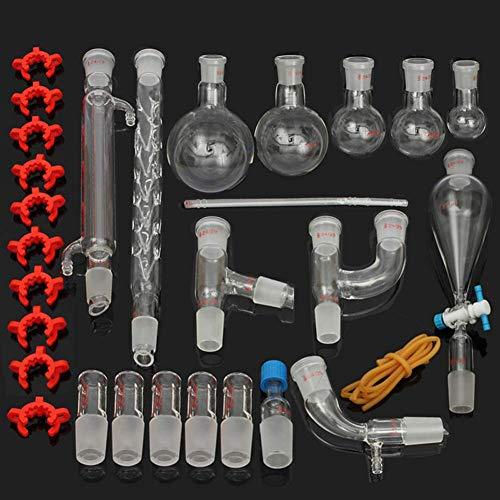 BIUYYY Neue Labor ätherisches Öl Destille Organische Chemie Gerät Glaswaren Kit Voller Satz Chemische Gerät