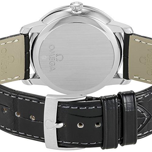 [オメガ]腕時計デ・ビルブルー文字盤コーアクシャル自動巻424.13.40.21.03.001並行輸入品ブラック