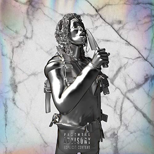 zhangyongjie Lancey Foux First Degree Album Cover Póster e Impresiones Arte de Pared Lienzo para Sala de Estar Home Decor Regalo 60 x 60 cm No Frame