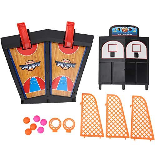 Denkerm Interaction Finger Basketball Game, Juego de Baloncesto de Mesa, Niño plástico para el hogar