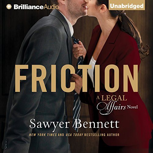 Friction audiobook cover art