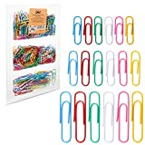 Mr. Pen- Colored Paper Clips, 450 Pack, Paper Clips Assorted Sizes, Paper Clips, Clip, Paperclips, Paper Clip, Paper Clips Assorted Colors, Large Paper Clips, Clips for Paperwork, Small Paper Clips