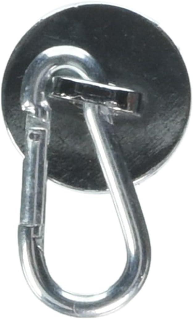 MASTER MAGNETICS 07587 Neoprene Magnet//Carabineer Hook