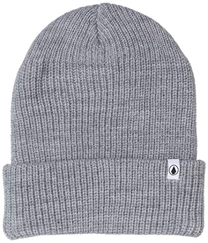 Volcom Herren Beanie Naval, Heather Grey, One Size, D5831801