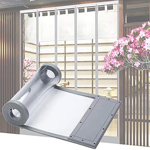 MAHFEI Cortina De Puerta, Mosquitera Magnética para Puertas Alta Transparencia Panel De PVC Seguro Y Saludable Cierre Automático para La Tienda Cortina De Partición para Sala De Estar