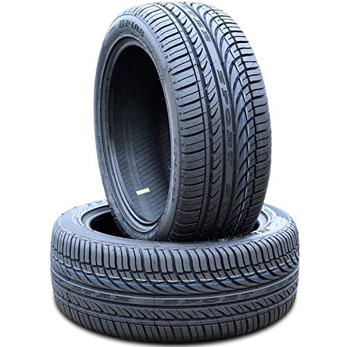 Set of 2 (TWO) Fullway HP108 All-Season High Performance Radial Tires-225/55R17 225/55ZR17 225/55/17 225/55-17 101W Load Range XL 4-Ply BSW Black Side Wall