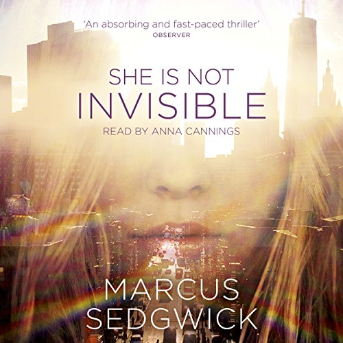 She Is Not Invisible audiobook cover art