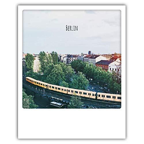 Pickmotion PolaCards Dresden: Hochwertige Polaroid Postkarten im Retro Stil - Motiv: U1