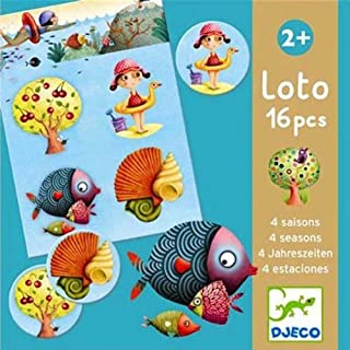 DJECO My First Games 4 Seasons Loto