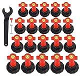 Nivelador Azulejos 25 piezas Reutilizables Espaciadores...