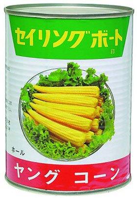 ヤングコーン缶3号缶 (固形270g) 8378