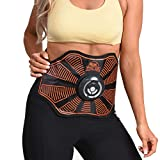 High Street TV Gymform Total Abs Core Toning Belt and Strengthening <span class='highlight'>EMS</span> System Toned Stomach <span class='highlight'>Muscle</span>s, black