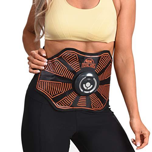 High Street TV Gymform Total Abs Core Toning Cinturón y fortalecimiento del sistema EMS tonificado músculos del estómago