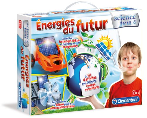 Clementoni - 62453.9 - Jeu Éducatif et Scientifique - Energies du Futur