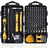 Computer Repair Kit, 122 in 1 Magnetic Laptop Screwdriver Kit, Precision Screwdriver Set, Small Impact Screw Driver Set with Case for Computer, Laptop, PC, for iPhone, Watch, Ps4 DIY Hand Tools