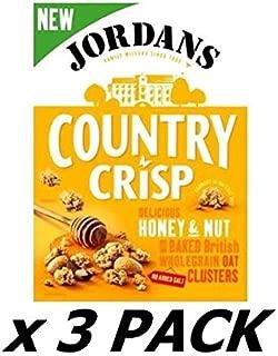 Jordans Country Crisp Honey Nut 500G (Pack of 3)