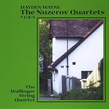 The Nuzerov Quartets No. 3, 4 & 5