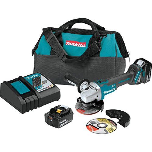 Makita XAG04T 18V LXT BL 4-1/2'/ 5' Cut-Off/Angle Grinder Kit