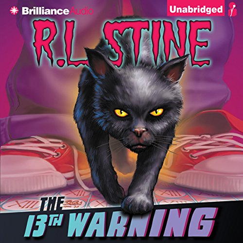 The 13th Warning audiobook cover art