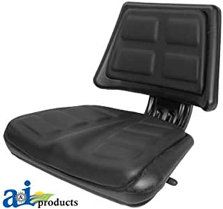 A & I Products Seat, Universal w/ Trapezoid Back, BLK. Replacement for Ford - New Holland Part Number T110BL