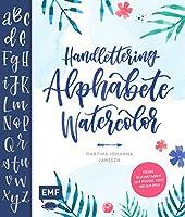 Janssen, M: Handlettering Alphabete Watercolor