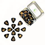 Timber Tones ZDT-MT-24 Zodiac Tones Guitar Picks, 24-Piece Tin-2