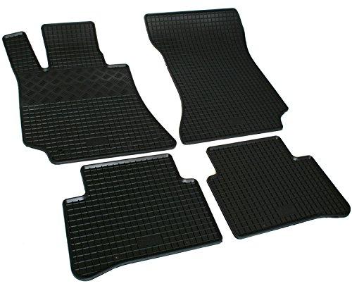 Gummimatten Gummi Fußmatten für Mercedes CLS C218 2011-2018 Original Qualität