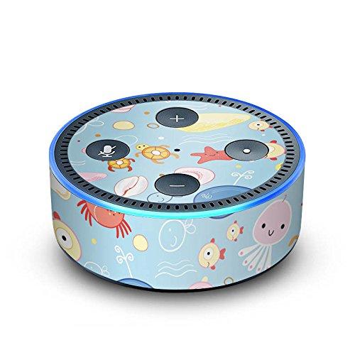 DeinDesign Amazon Echo Dot 2.Generation Folie Skin Sticker aus Vinyl-Folie Unterwasser Kids Kinder