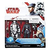 Star Wars Force Link Finn (First Order Disguise) & Captain Phasma Pack